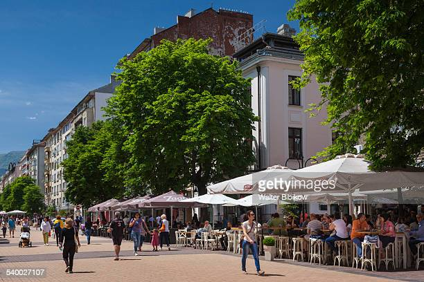 bulgaria, sofia, exterior - boulevard stock pictures, royalty-free photos & images