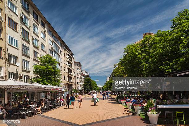 bulgaria, sofia, exterior - boulevard stock pictures, royalty-free photos & images