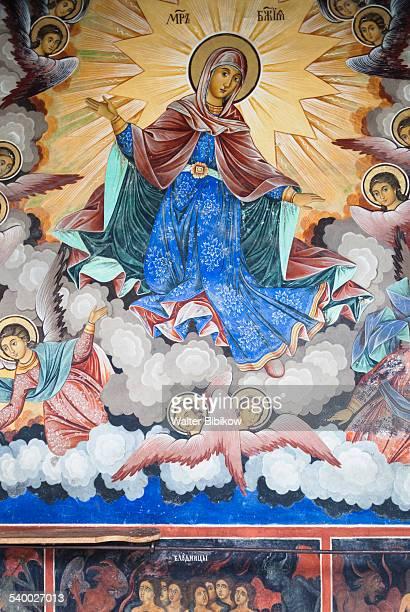 bulgaria, southern mountains, detail - religious saint stock pictures, royalty-free photos & images