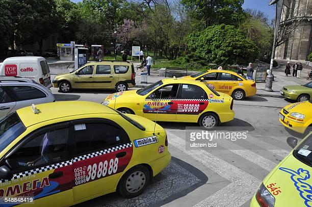 Bulgaria Varna Varna - taxis in the city centre