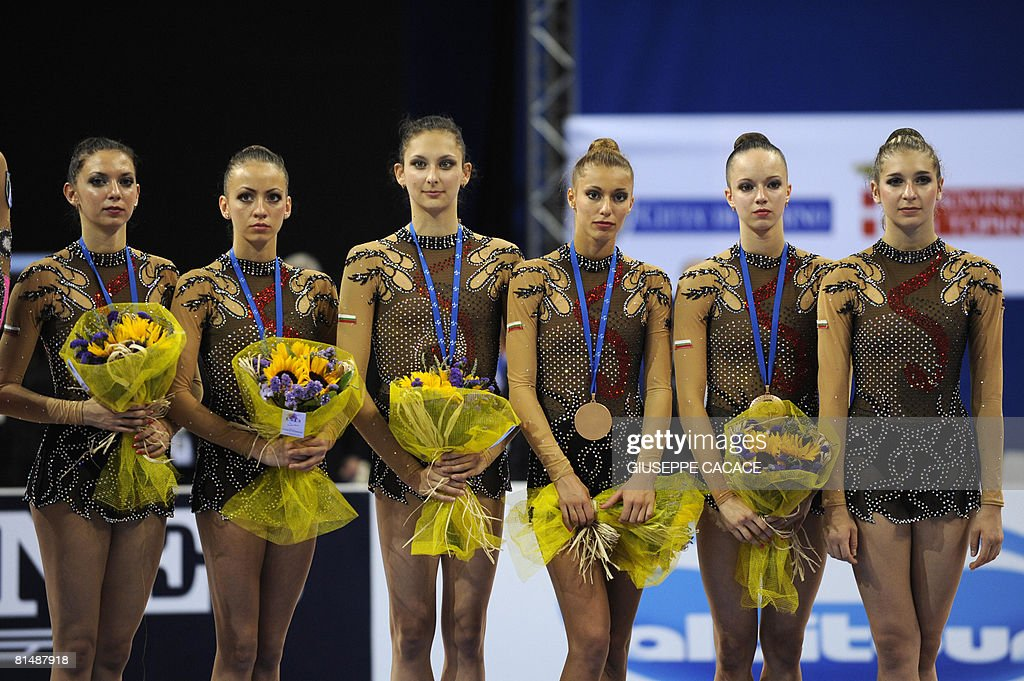Bulgarian Bronze medallists (From L to R : News Photo