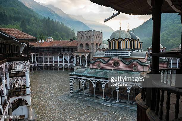 Bulgarian Orthodox Rila Monastery in Bulgaria