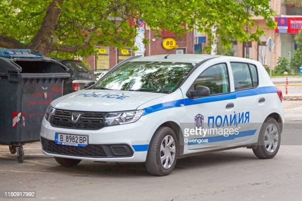 Bulgarian police car