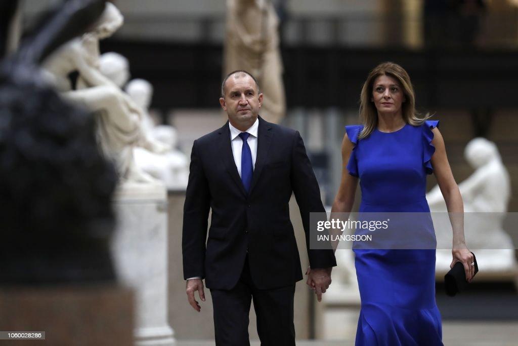 FRANCE-WWI-HISTORY-CENTENARY-POLITICS-DIPLOMACY-DINER : News Photo