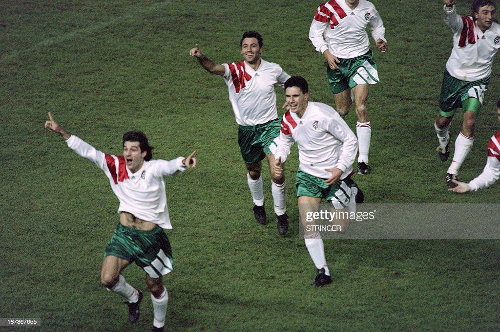 FBL-FRANCE-BULGARIA-WORLD CUP 1994 : News Photo