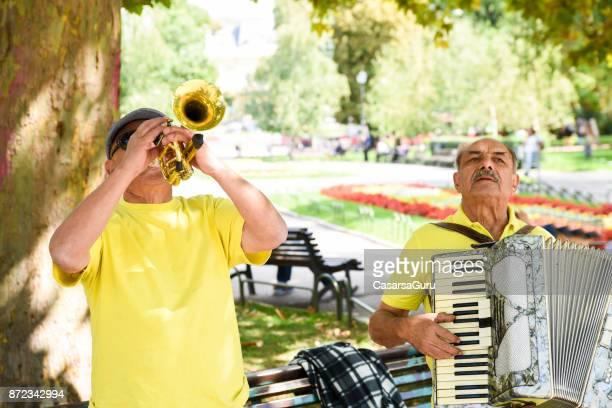 Bulgarian Street Musicians