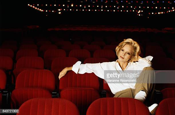 Bulgarian-born French Singer Sylvie Vartan at the Olympia music hall, in Paris, where she will be performing from October 15-27.