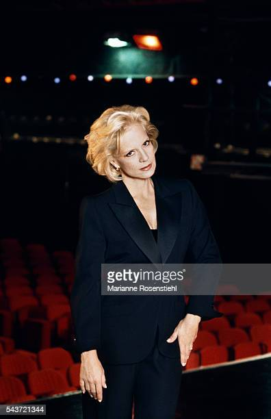 Bulgarianborn French Singer Sylvie Vartan at the Olympia music hall in Paris where she will be performing from October 1527