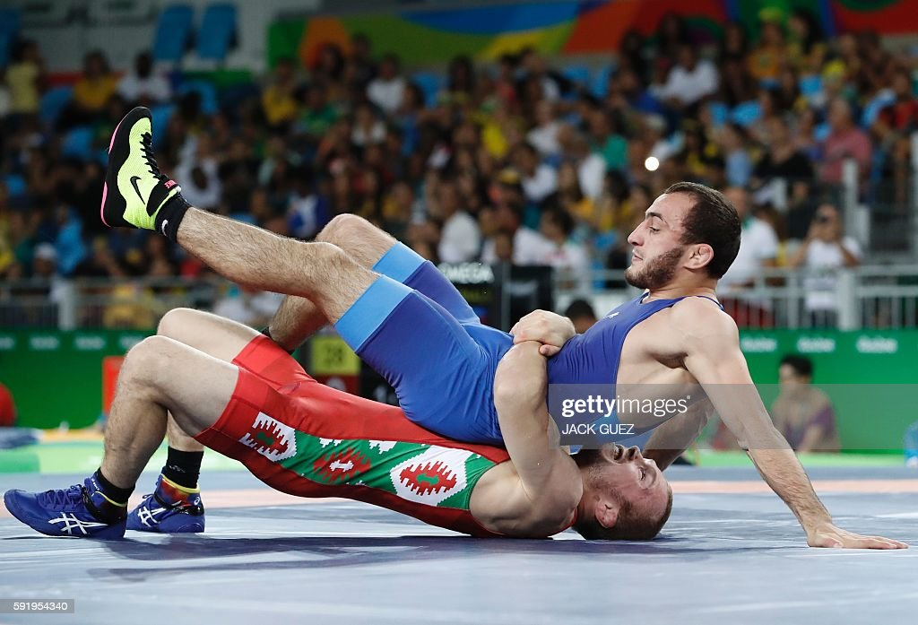 WRESTLING-OLY-2016-RIO : News Photo