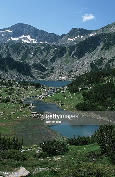 Bulgarien, Piringebirge: das Banderiza-Tal imNationalpark Pirin, im Hintergrund der Langsee- 2005