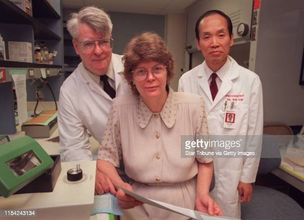 Bulimia study Dr Boyd Hartman Dr Patricia Faris and Dr Suck Won Kim the University of Minnesota team studying Dr Faris' bulimia theory