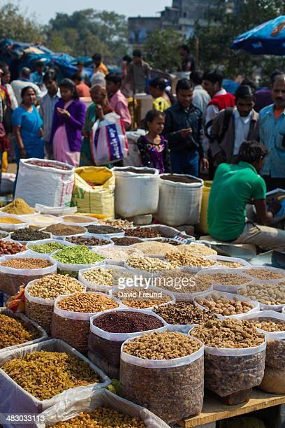 Bulk Food Market Shopping
