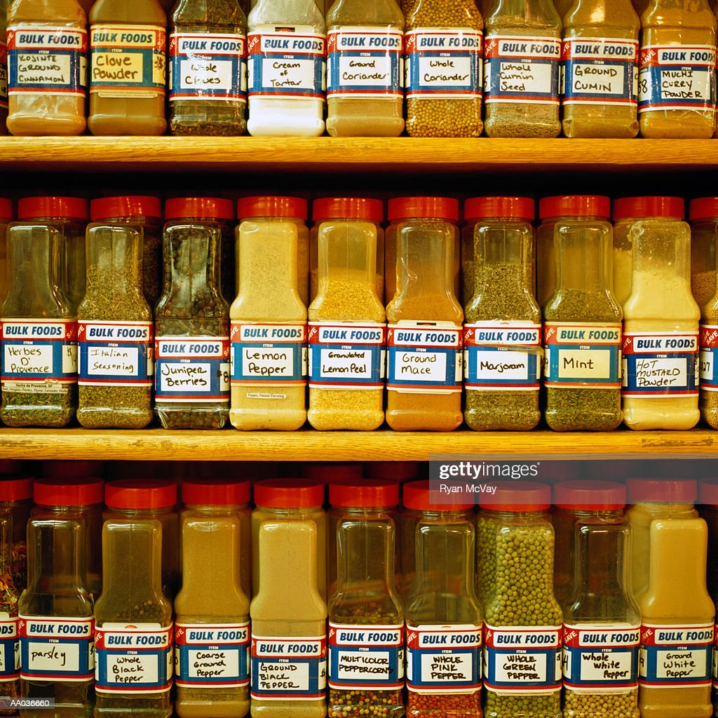 Bulk Spices Stock Photo - Getty Images