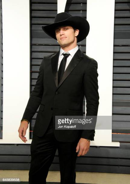 Bull rider Bonner Bolton attends the 2017 Vanity Fair Oscar Party hosted by Graydon Carter at Wallis Annenberg Center for the Performing Arts on...