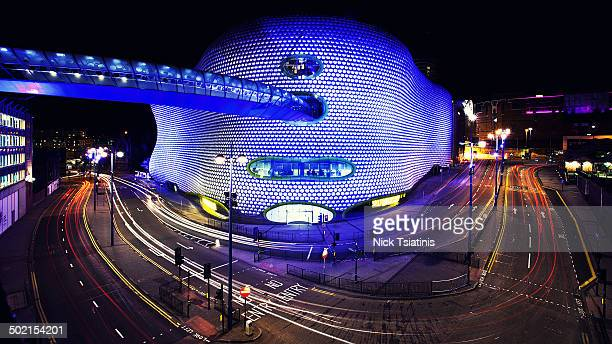 bull ring road - birmingham england stock photos and pictures