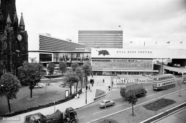 Bull Ring Shopping Centre Birmingham 10th June 1964