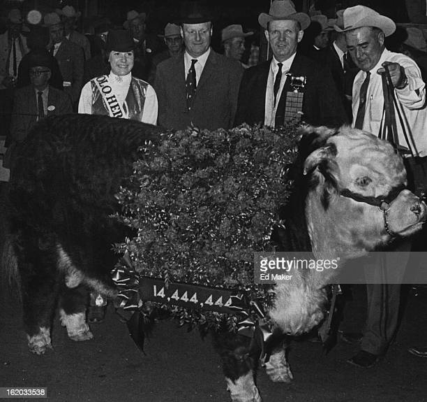 JAN 16 1967 JAN 17 1967 Bull Sells for $52500 A Hereford spring yearling named Silver Design 88th won the JS Bridwell Memorial Hereford trophy Monday...
