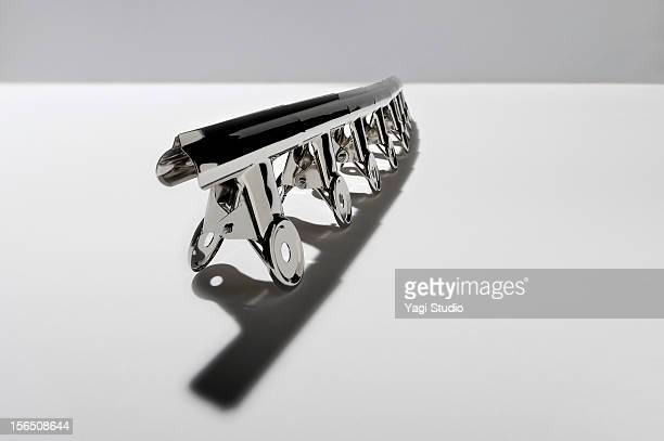 bulldog clips - binder clip stock pictures, royalty-free photos & images
