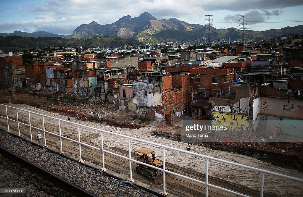Five Percent Favela Reduction Plan Upends Rio Communities : News Photo