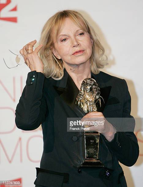 Bulle Ogier attends the 25th Moliere Awards Ceremony on April 17, 2011 in Creteil, France.