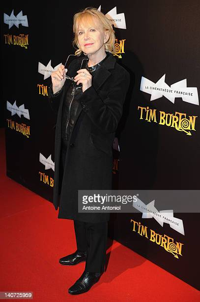 Bulle Ogier attends the 'Tim Burton - The Exhibition' launch cocktail at la cinematheque on March 5, 2012 in Paris, France.