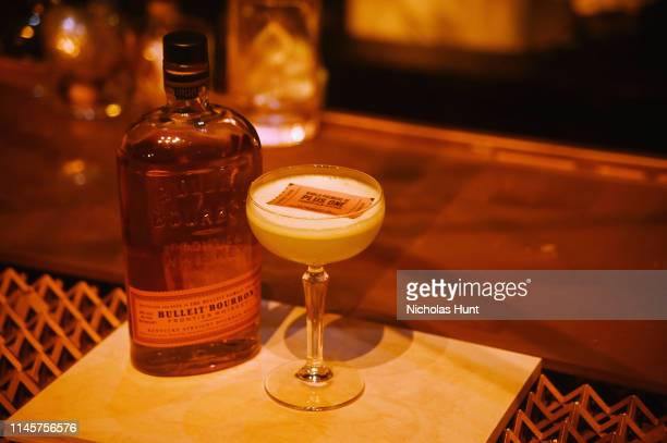 Bulleit Bourbon Atmosphere at the 2019 Tribeca Film Festival AfterParty for Plus One hosted by Bulleit Bourbon at the Bulleit 3D Printed at Bulleit...