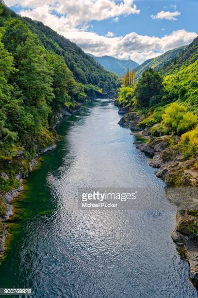 buller river gorge, tasman region, southland, new zealand - international landmark stock pictures, royalty-free photos & images