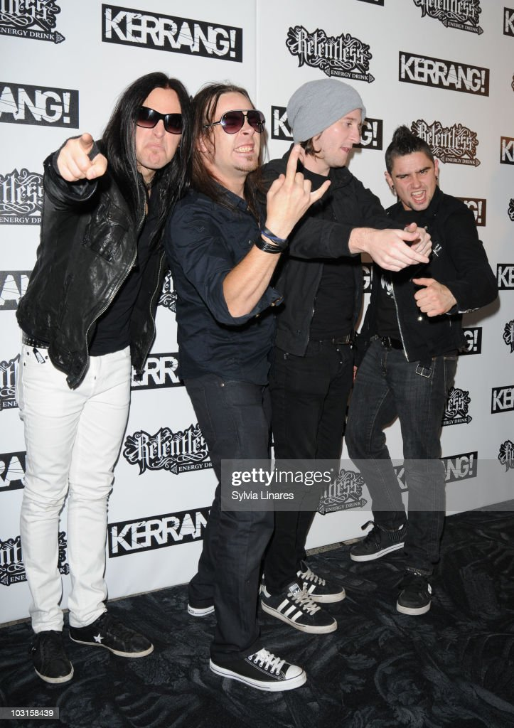 Bullet For My Valentine Band Members Attend The Relentless Energy