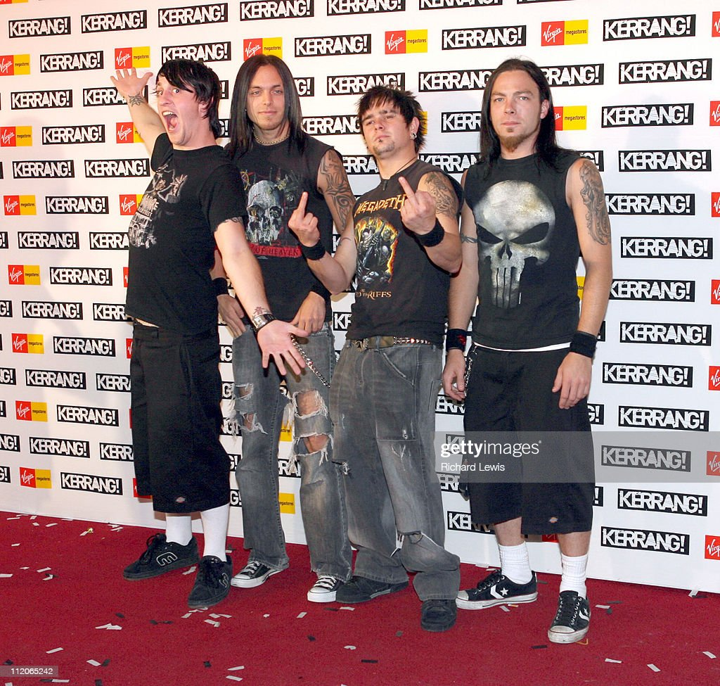 Bullet For My Valentine During Kerrang! Awards 2006   Arrivals At The  Brewery In London