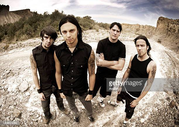 Bullet for my valentine getty images bullet for my valentine shot on location in spain voltagebd Image collections