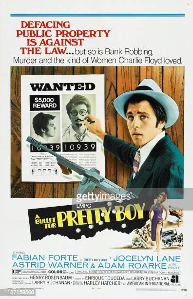 A Bullet For Pretty Boy poster US Poster Fabian 1970