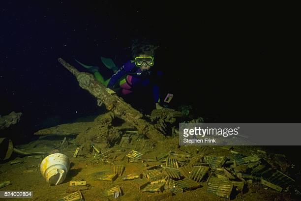 Bullets in Shipwreck