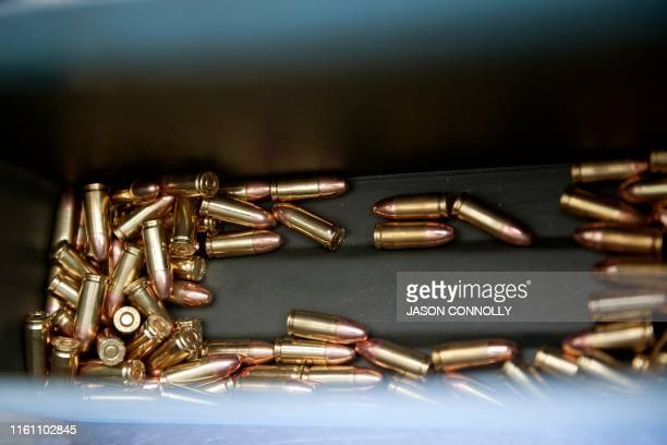 Bullets that will be fired during the FASTER Level 2 two day firearms course at Flatrock Training Center in Commerce City Colorado on August 11 2019...