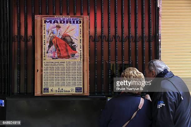 Bullfight ticket booth