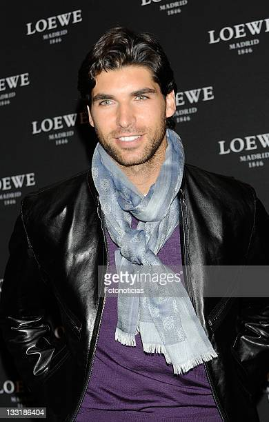 Bullfighter Cayetano Rivera is presented as the image of Loewe's new fragrance at the Palace Hotel on December 16 2009 in Madrid Spain