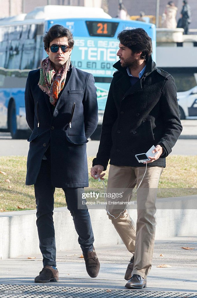 Celebrities Sighting In Madrid - January 13, 2015