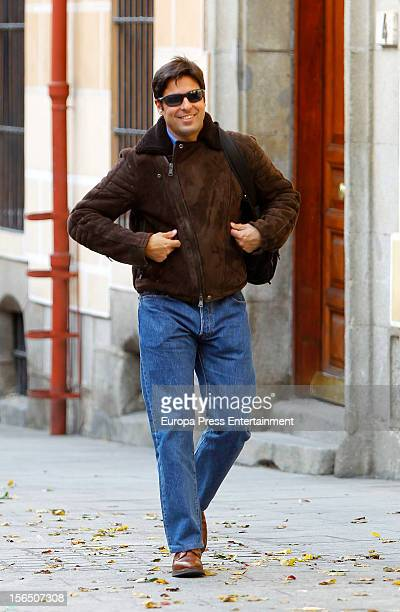 Bullfighter Francisco Rivera is seen on November 15 2012 in Madrid Spain