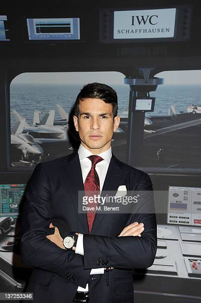 Bullfighter Jose Maria Manzanares attends the IWC Top Gun Gala Event at 22nd SIHH High Jewellery Fair on at the Palexpo Exhibition Hall January 17,...
