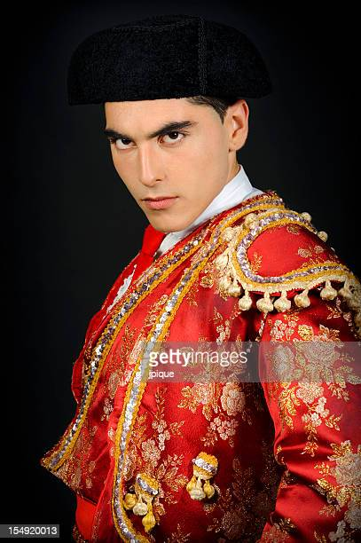 bullfighter portrait - spanish culture stock pictures, royalty-free photos & images