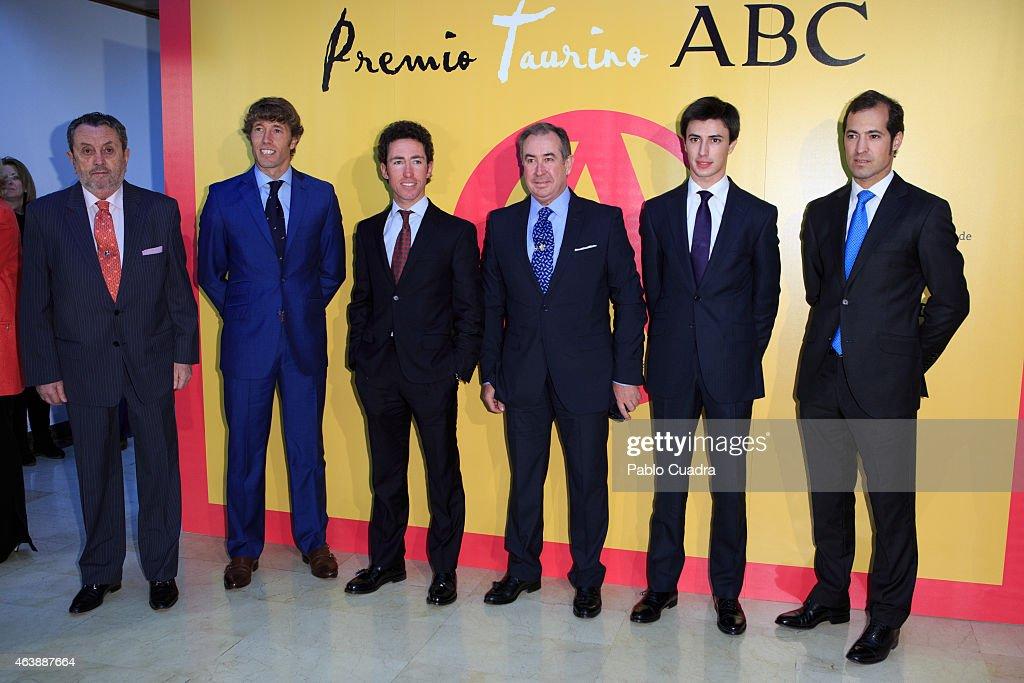 King Juan Carlos Attends ABC Bullfight Awards In Madrid
