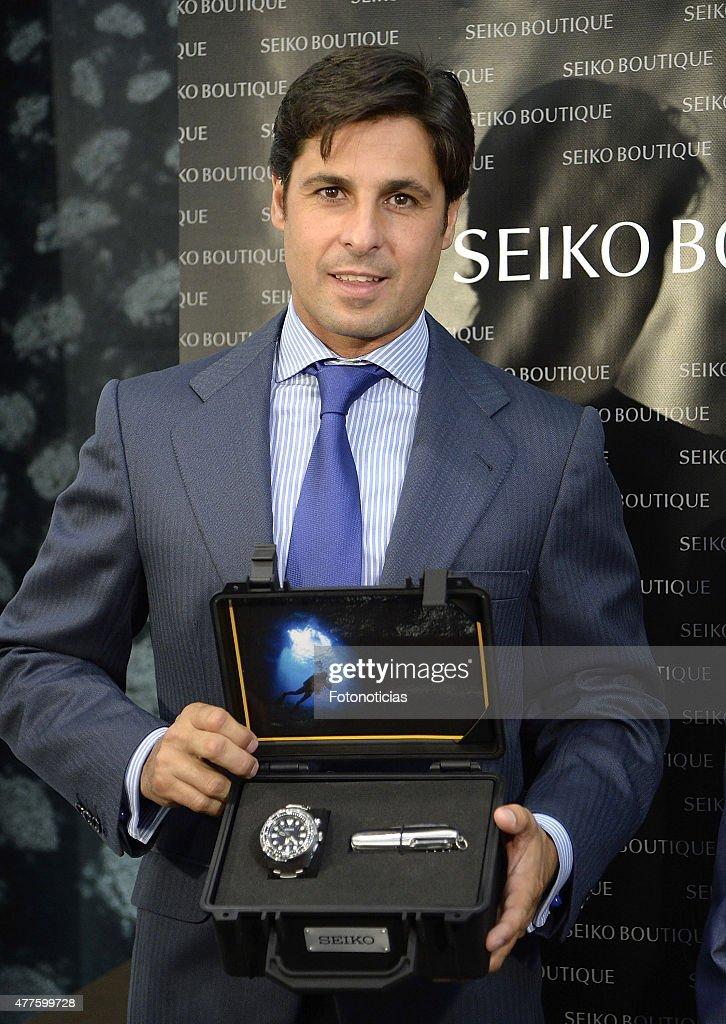 Francisco Rivera Attends Seiko Boutique Madrid Presentation