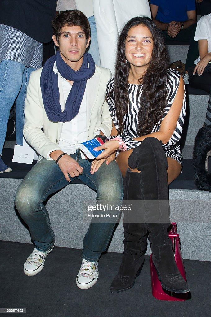 Mercedes-Benz Fashion Week Madrid Spring/Summer 2016 - Celebrities - Day 1