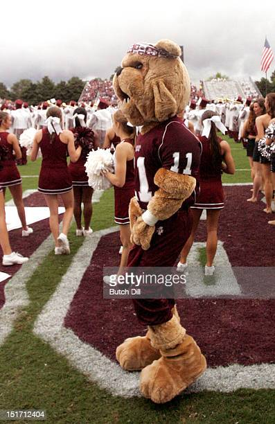 Bullie of the Mississippi State Bulldogs before the game against Auburn in a NCAA college football game on September 8 2012 at Davis Wade Stadium in...