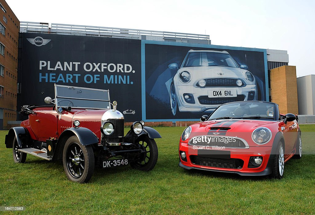MINI Plant Leads Celebration Of 100 Years Of Car Manufacturing In ...