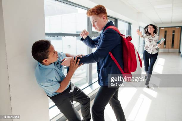 bullying at school - cruel stock pictures, royalty-free photos & images