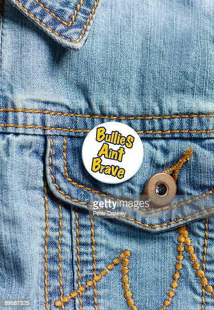 Bullying button badge.