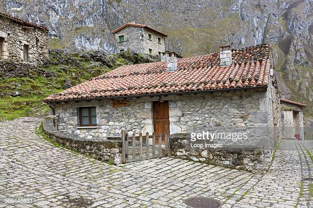 Bulnes El Castillo in the Picos de Europa National Park