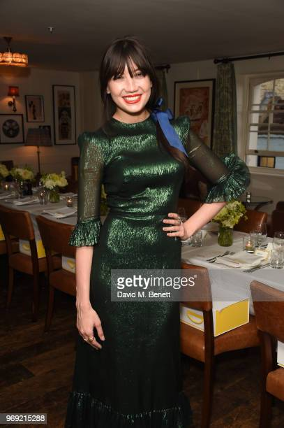 Bumble Ambassador Daisy Lowe attends the launch of Bumble's #BodyConfidante campaign at Soho House on June 7 2018 in London England
