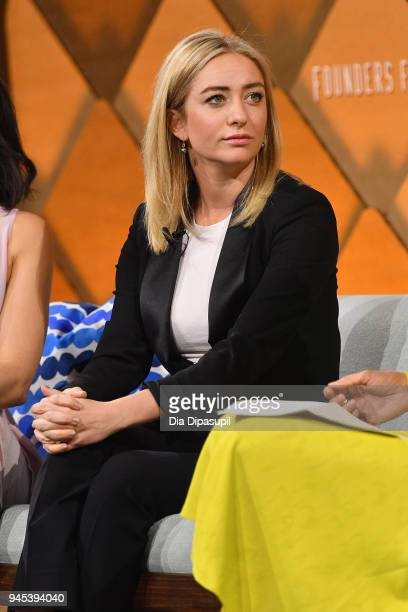 Bumble founder and CEO Whitney Wolfe Herd speaks onstage during Vanity Fair's Founders Fair at Spring Studios on April 12, 2018 in New York City.