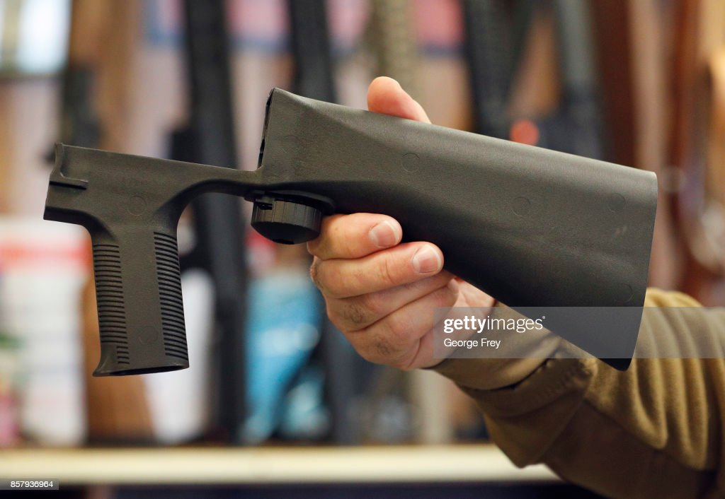 Congress Debates Sale Of Bump Stock Devices After Las Vegas Mass Shooting
